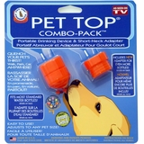Pet Top Combo Pack - Portable Drinking & Short Neck Adapter