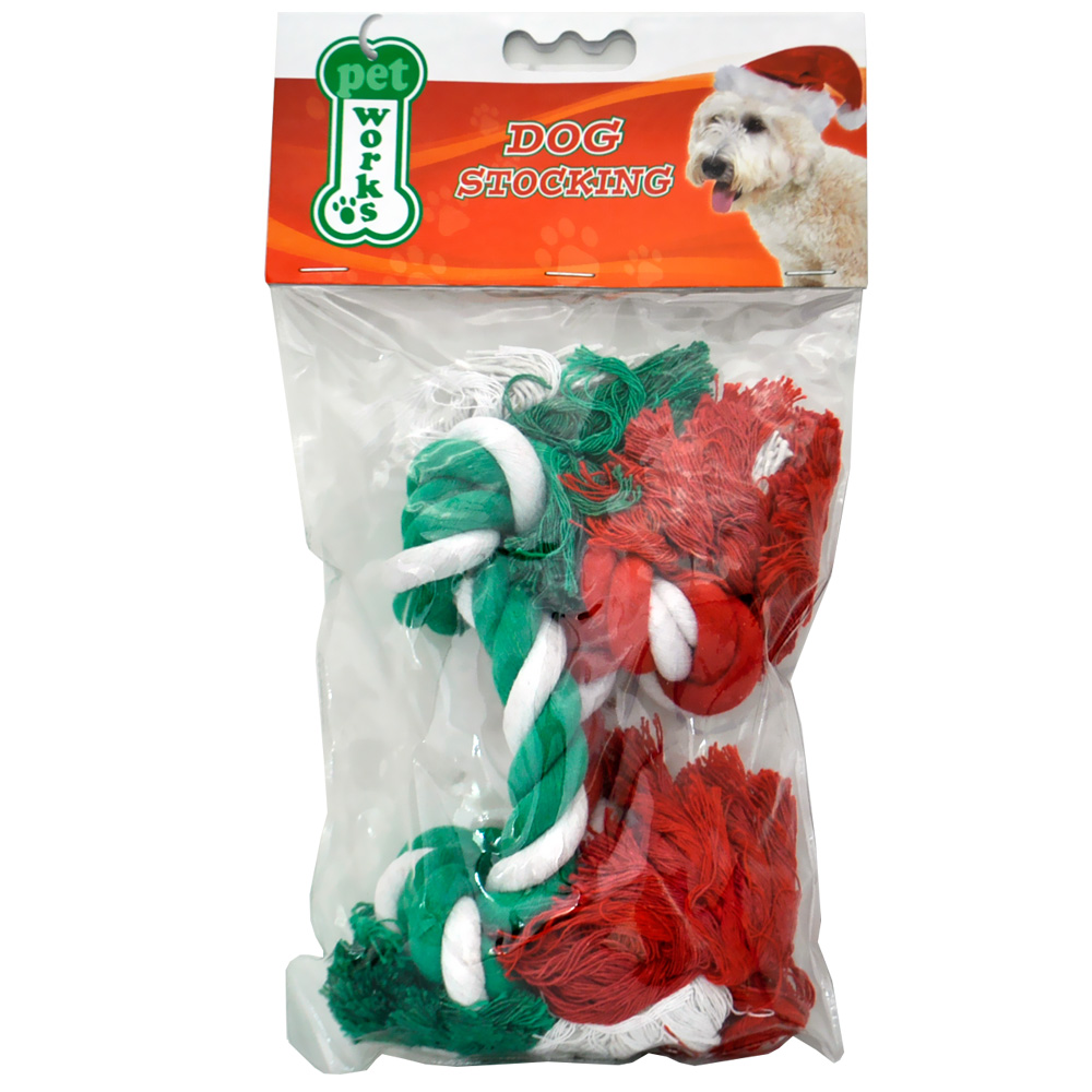 Pet Works Holiday Cotton Rope 10