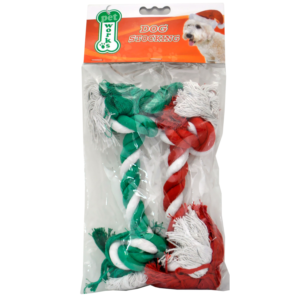 Pet Works Holiday Cotton Rope 12