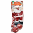 Pet Works Holiday Stocking Set - Santa Claus (4 pack)