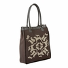 Petalonia Tote Bag - Midnight Black Platinum