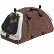 Petego Jet Set Pet Carrier with Forma Frame - Silver/Brown (Medium)