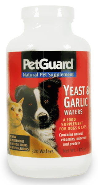 PetGuard Yeast and Garlic Wafers (320 ct)