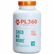 PetLabs360 Shed No More for Dogs, Beef & Cheese flavor 120 Chewable Tablets
