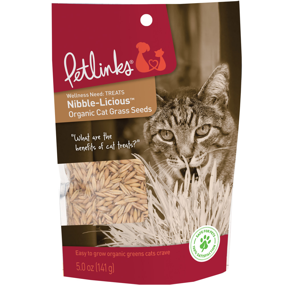 Petlinks Nibble-Licious Cat Grass Seeds (5 oz)