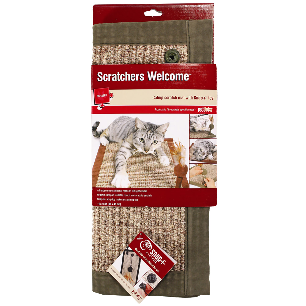 Petlinks Scratchers Welcome