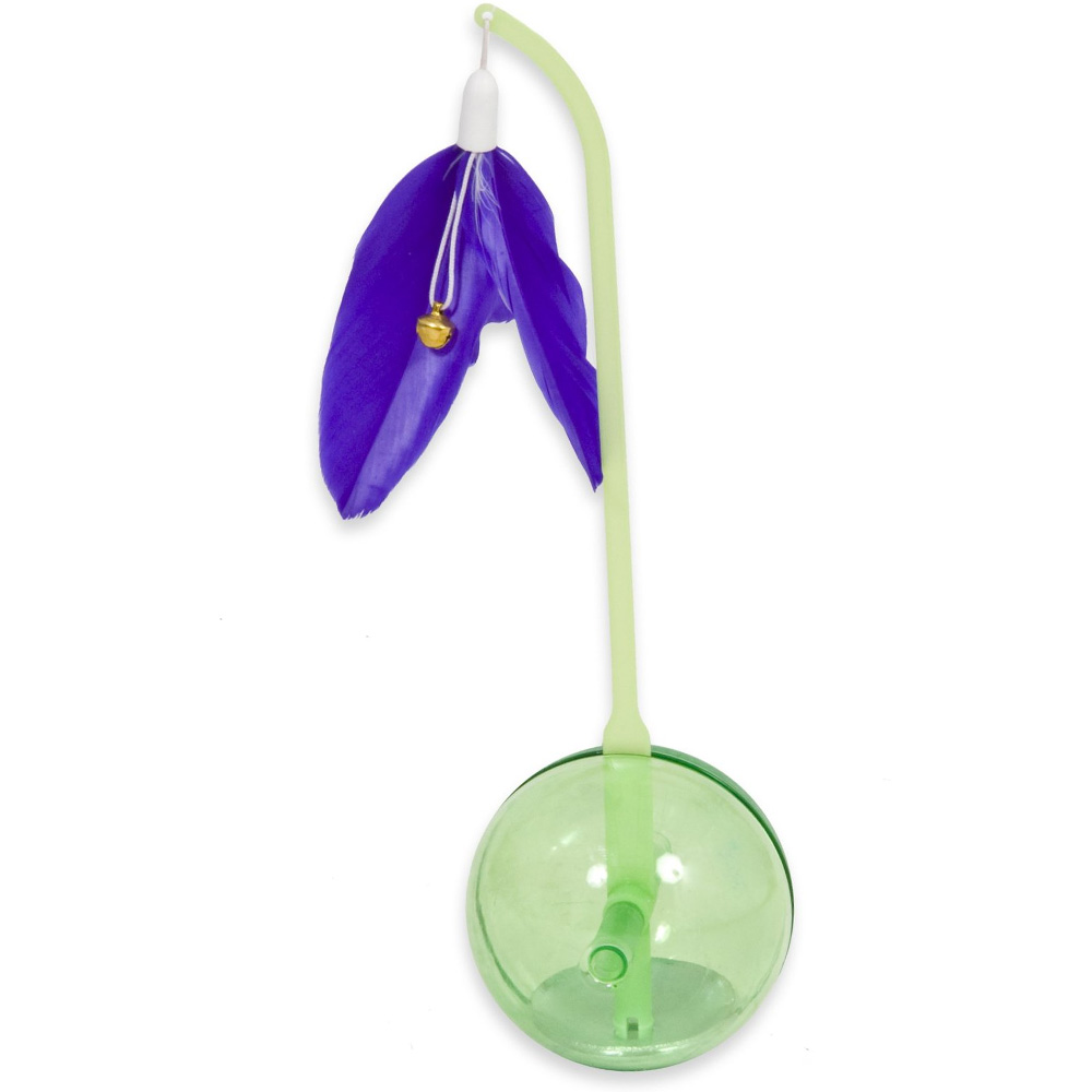 Petmate Balance Ball - Green/Purple