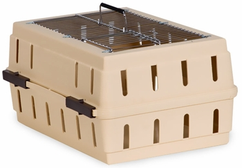 Petmate Cabin Kennel Wire Top upto 10lbs - Almond