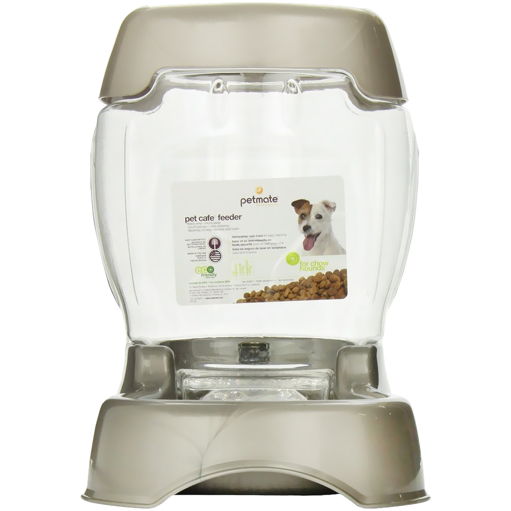 Petmate Cafe Feeder (3 lbs) - Pearl Tan