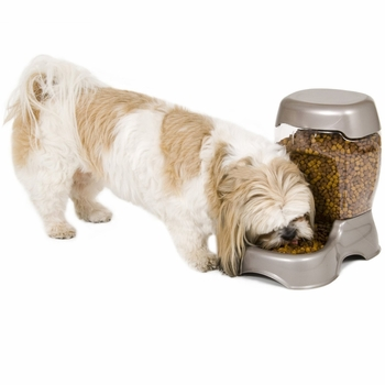 Petmate Cafe Feeder (6 lbs) - Pearl Tan