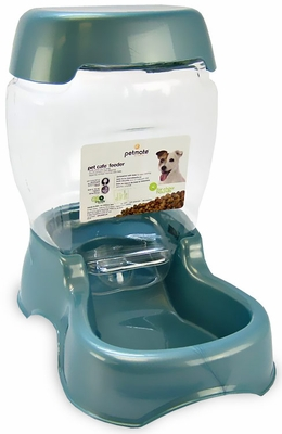 Petmate Cafe Waterer Feeder (3 lbs) - Pearl Blue