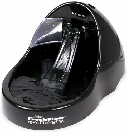 Petmate Deluxe Fresh Flow (108 oz capacity) - Black