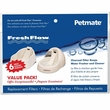 Petmate Fresh Flow Replacement Filter 6 Pack