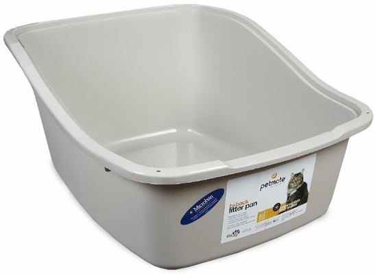 Petmate High Back Pan with Microban Large - Assorted
