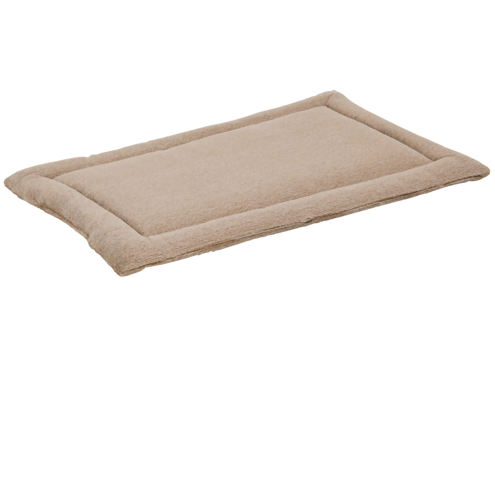 "Petmate Kennel Mat Tan - 19""x11"" (upto 20 lbs)"