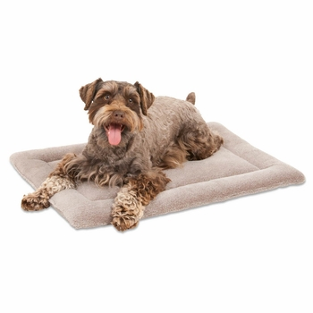 "Petmate Kennel Mat Tan - 20.5""x14"" (20-25 lbs)"