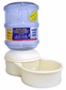 Petmate Le Bistro with Microban Waterer - SMALL / 1 Gallon