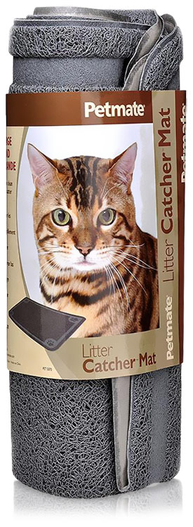 Petmate Litter Catcher Mat Large - Ice Blue