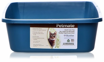 Petmate Litter Pan with Microban Large - Assorted