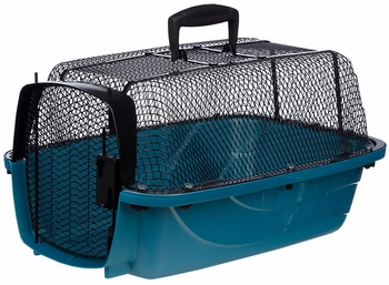 "Petmate Look N' See Carrier 19"" upto 10lbs - Pearl Waterfall"