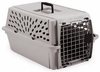 Petmate Pet Shuttle Kennel Intermediate 15-20lbs - Mouse Gray