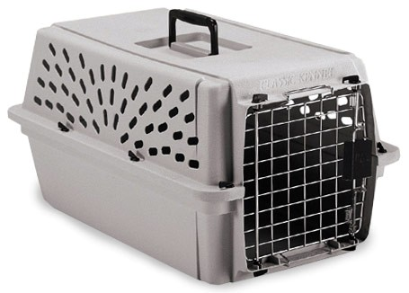 Petmate Pet Shuttle Kennel Medium upto 15lbs - Mouse Gray