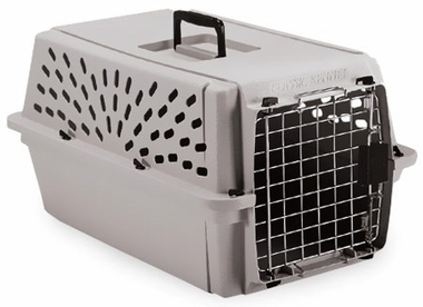 Petmate Pet Shuttle Kennel Small upto 10lbs - Mouse Gray