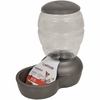 Petmate Replendish Feeder with Microban (5 lb) - Brushed Nickel