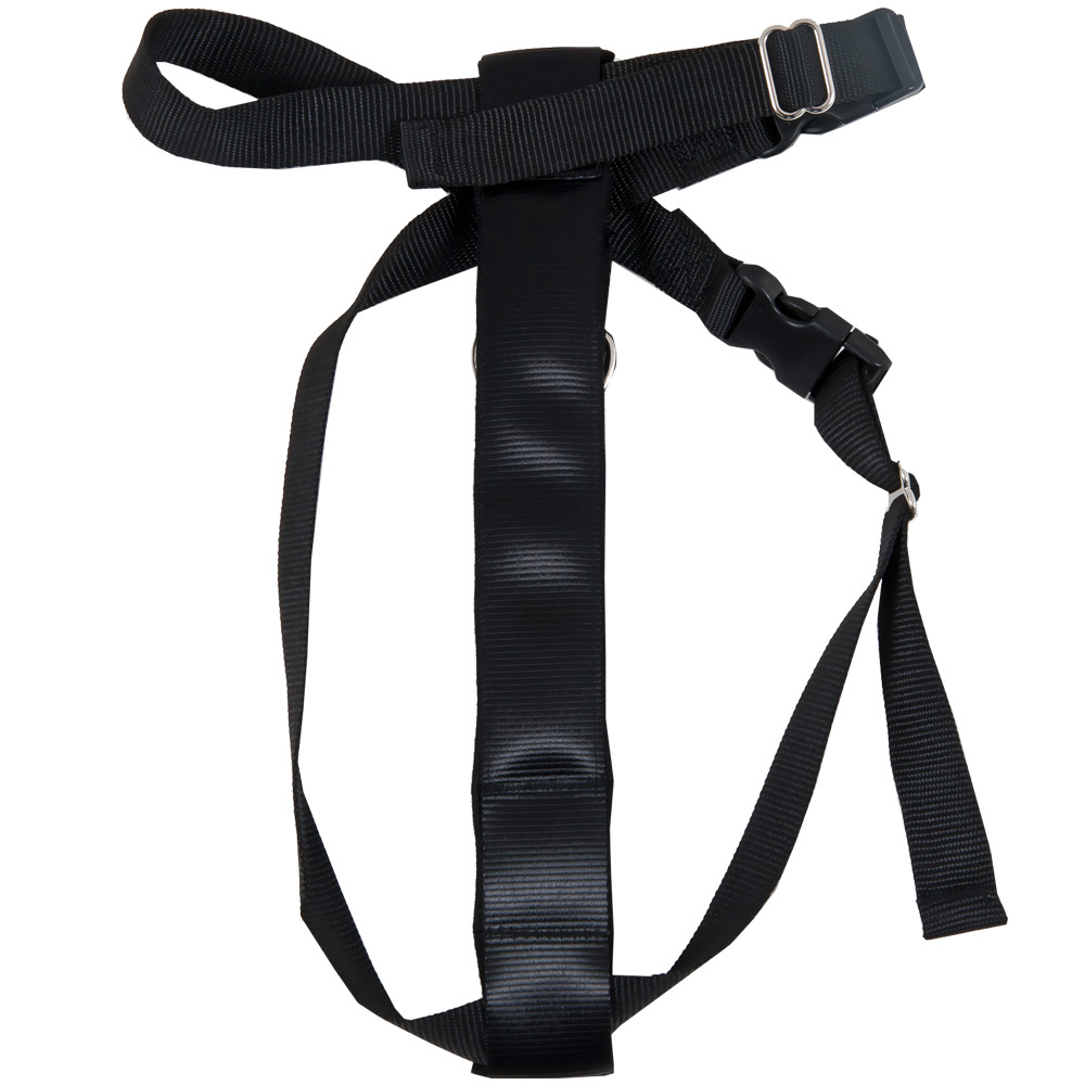 Petmate Seat Belt Travel Harness - Black (Large)