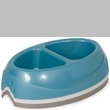 Petmate Ultra Lightweight Dish Double Diner Large - Assorted