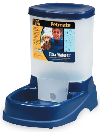 Petmate Ultra Waterer with Microban - Breeze