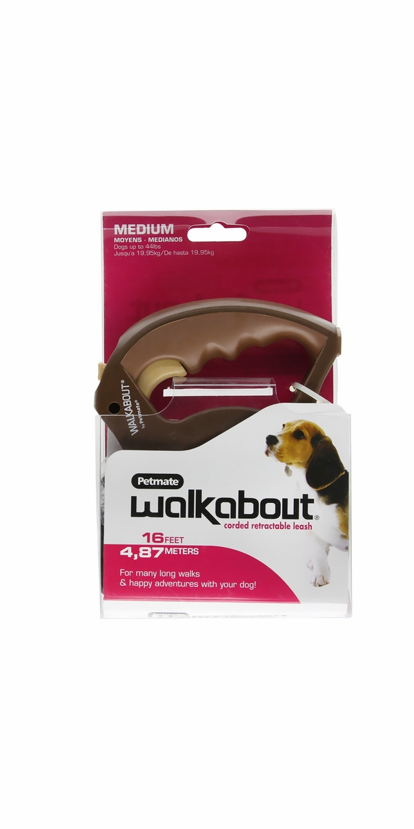 Petmate Walkabout Cord Medium - Chocolate