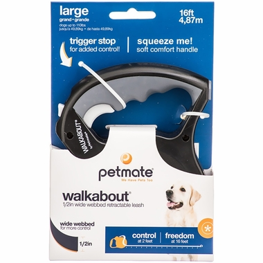 Petmate Walkabout Wide Large - Black