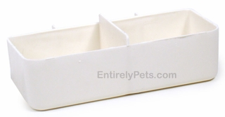 Petmate Water Cups - DOUBLE