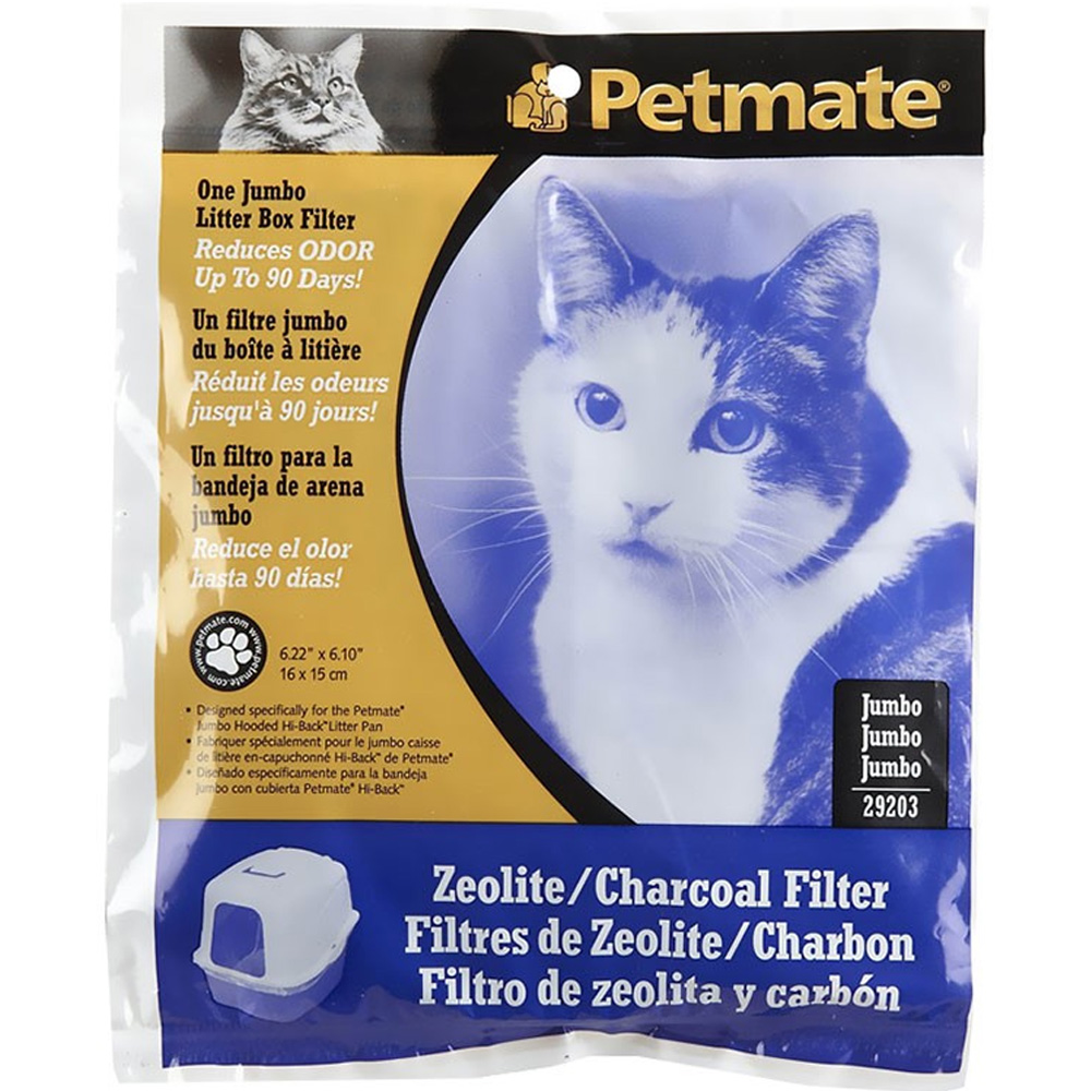 Petmate Zeolite Basic Hooded Pan Filter - Jumbo