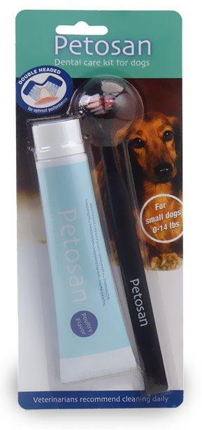 Petosan Dental Care Kit for Small Dogs
