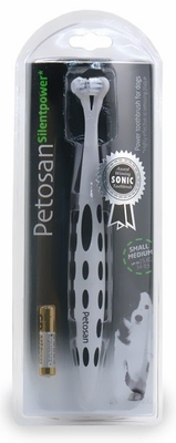 Petosan Silentpower Toothbrush for Small/Medium Dogs