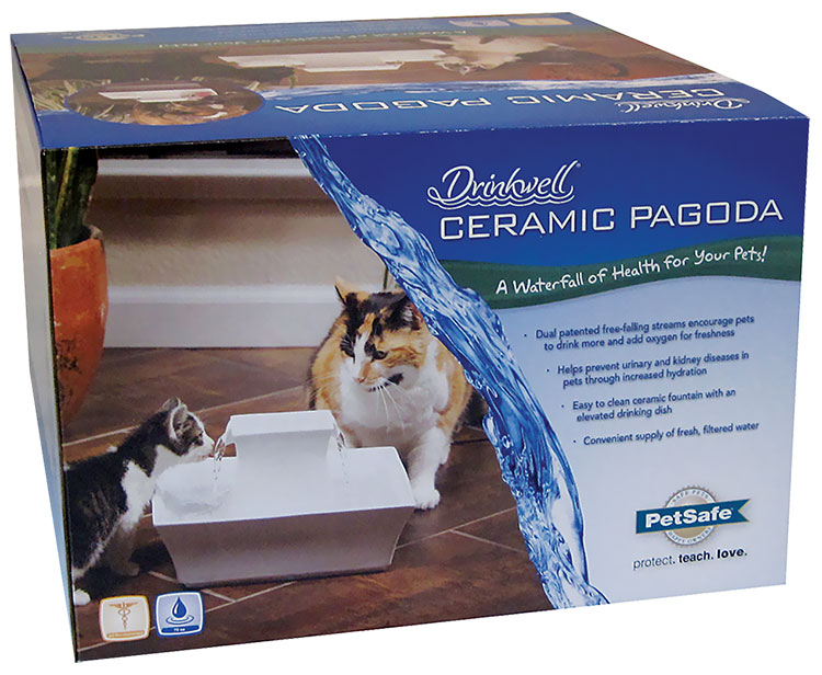 PetSafe Ceramic Pagoda Fountain