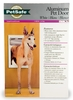 Petsafe - Classic Pet Door - Large White