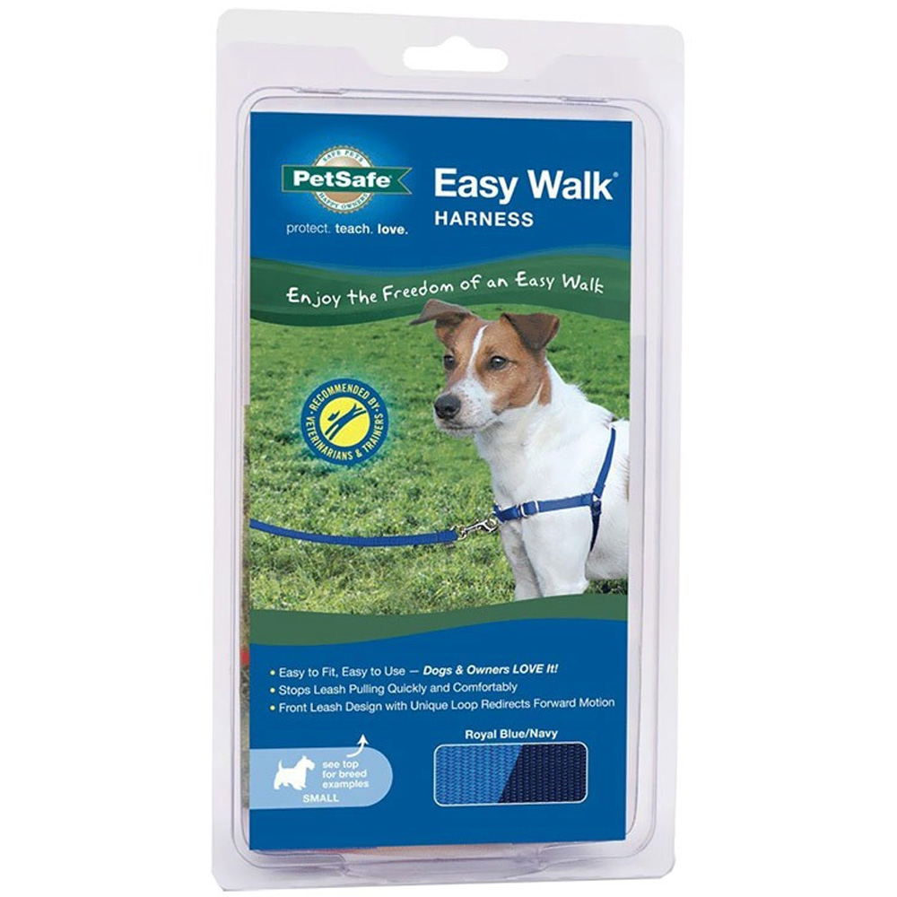 PetSafe® Easy Walk® Harness - Royal Blue/Navy (Petite/Small)