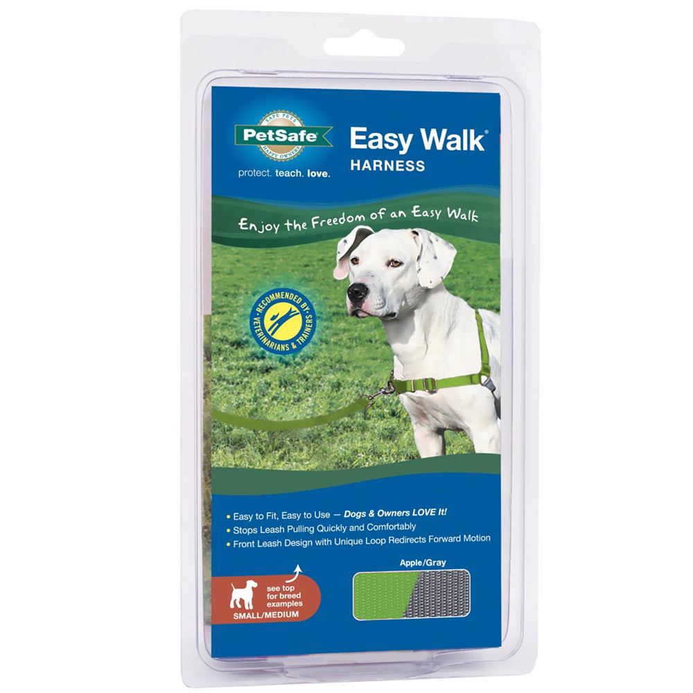 PetSafe® Easy Walk® Harness - Apple/Gray (Small/Medium)