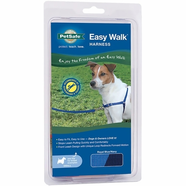 PetSafe Easy Walk Harness - Royal Blue/Navy (Small)