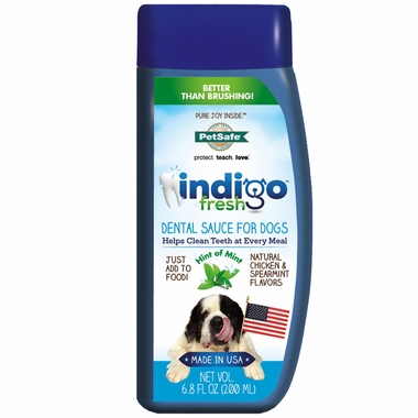 Petsafe Indigo Fresh Dental Sauce - Mint (6.8 oz)