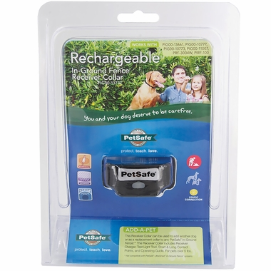PetSafe Rechargeable In-Ground Fence Receiver Collar with Charger