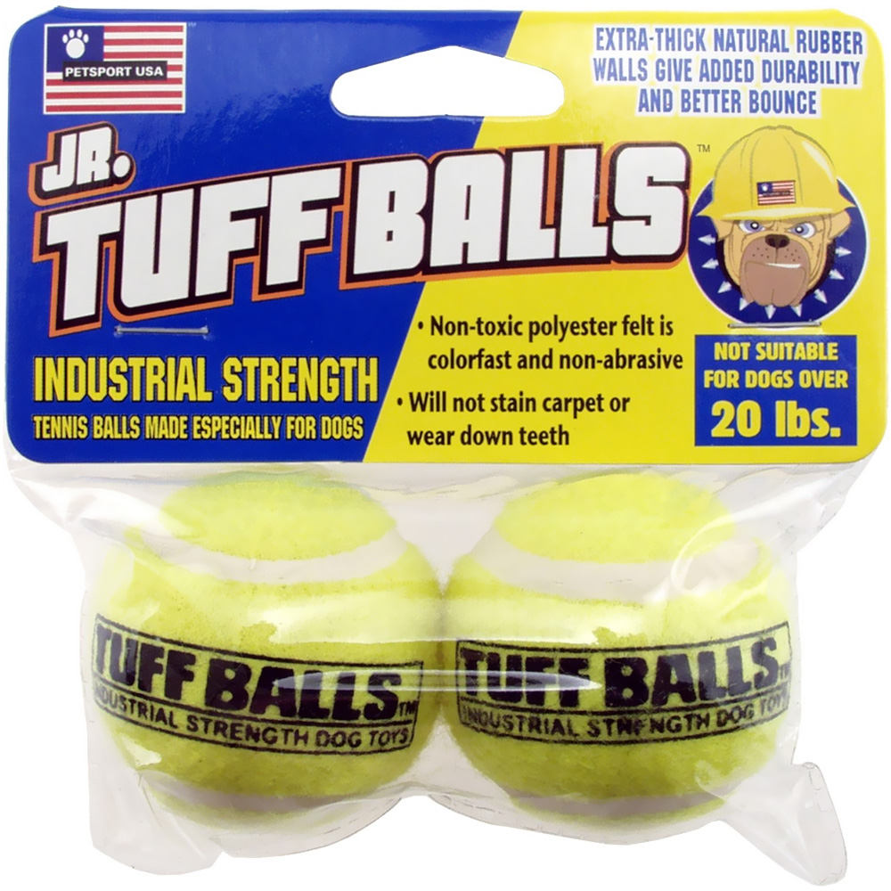 Petsport Jr. Tuff Balls (2 pack)