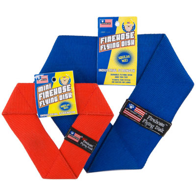 Petsport Mini Firehose Flying Disk