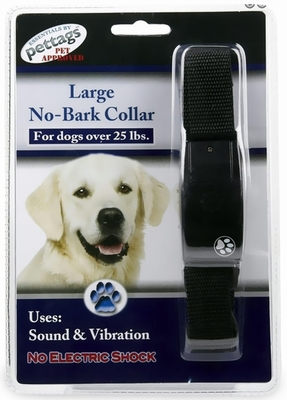 Pettags Sonic & Vibration NO BARK COLLAR (LARGE)