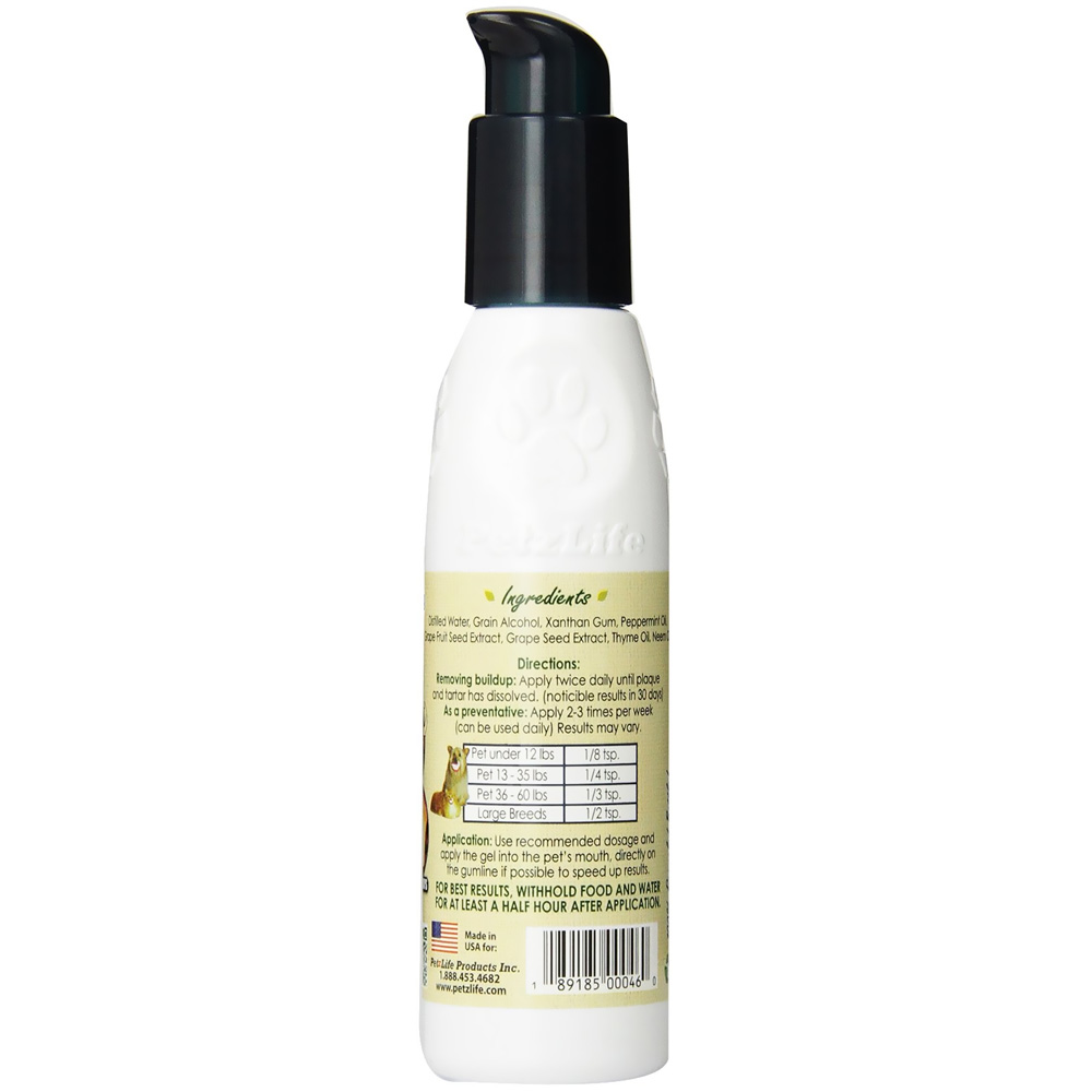 Petzlife Oral Care Peppermint Gel (4 oz)