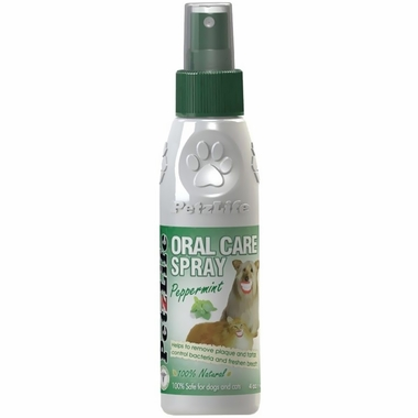 Petzlife Oral Care Peppermint Spray (4 oz)