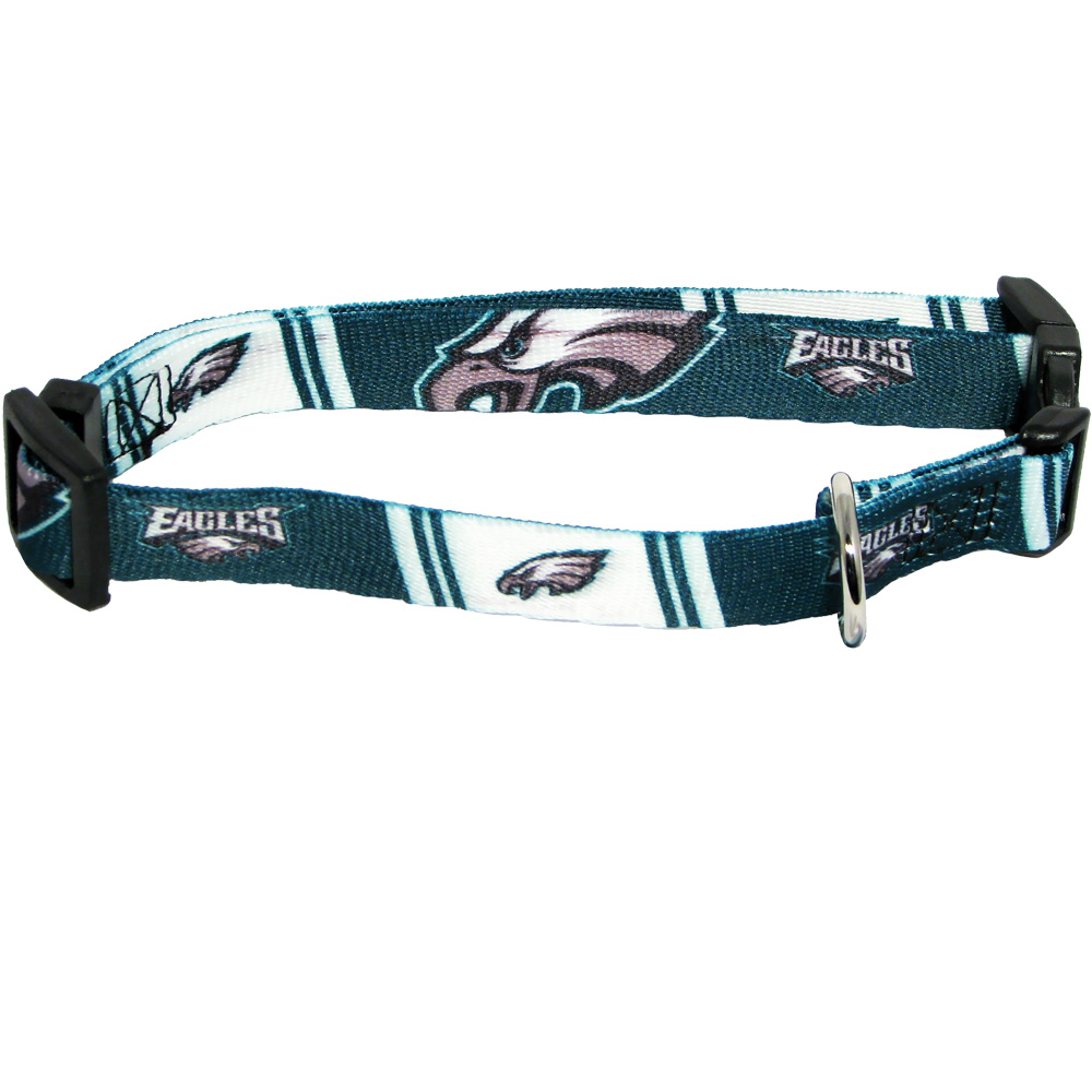 Philadelphia Eagles Dog Collars & Leashes